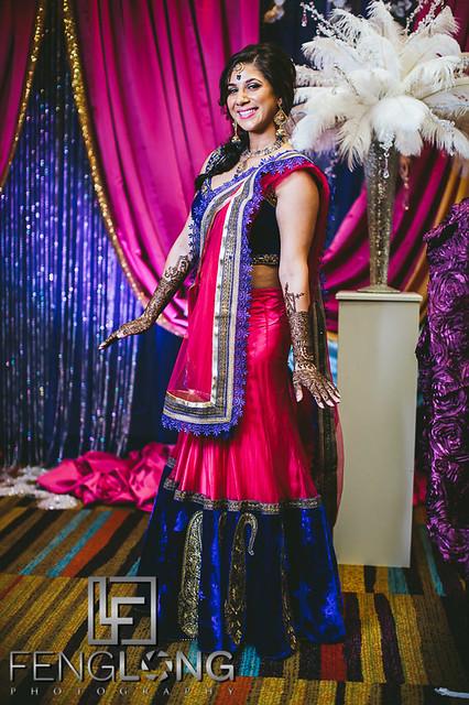 Vaishali & Vijay | Mehndi Night | Atlanta Indian Wedding Photographer