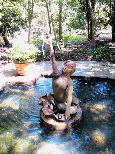 Mermaid fountain, Bellingrath Gardens, AL