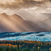 Sunbeams on Glacier, Alaska - 2nd Place Scenics - Al Perry