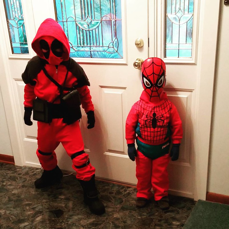 Big trick-or-treating!  #Halloween