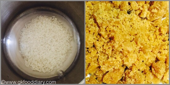 Rice kheer for babies and toddlers - step 1