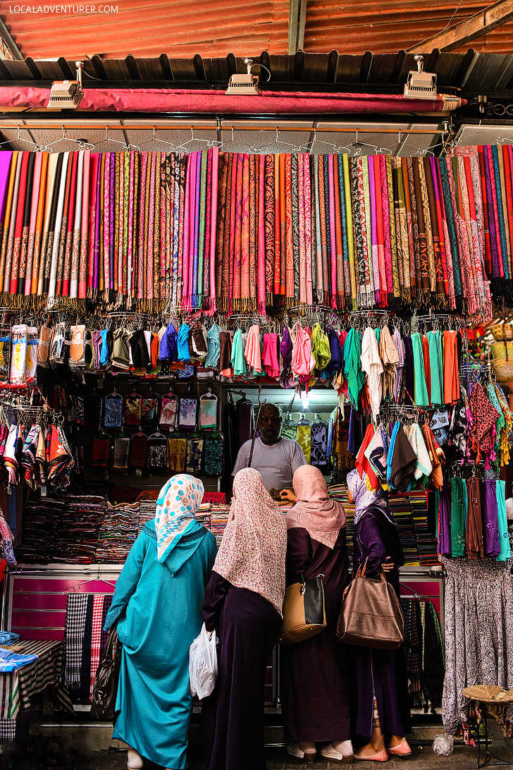 The Beautiful Colors of Marrakech at Jemaa El Fna.