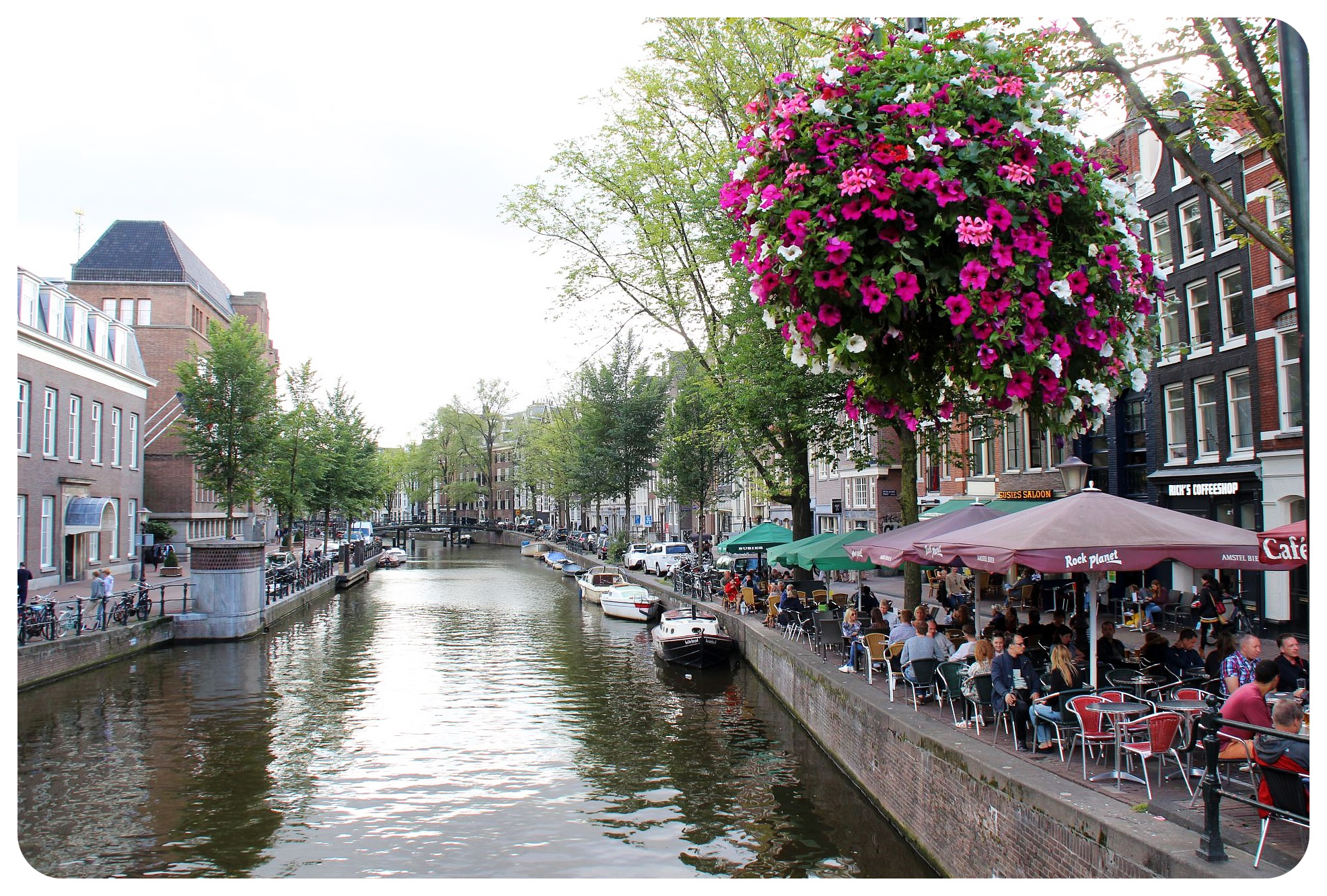amsterdam canalside cafes