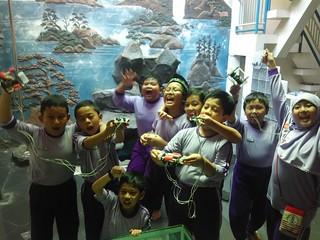 Workshop ROV underwater