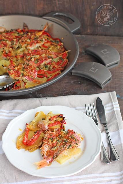 Salmonetes al horno www.cocinandoentreolivos.com (18)