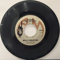 BILLY PRESTON:NOTHING FROM NOTHING(RECORD SIDE-A)