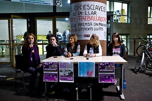 Roda Premsa Dones Treballadores