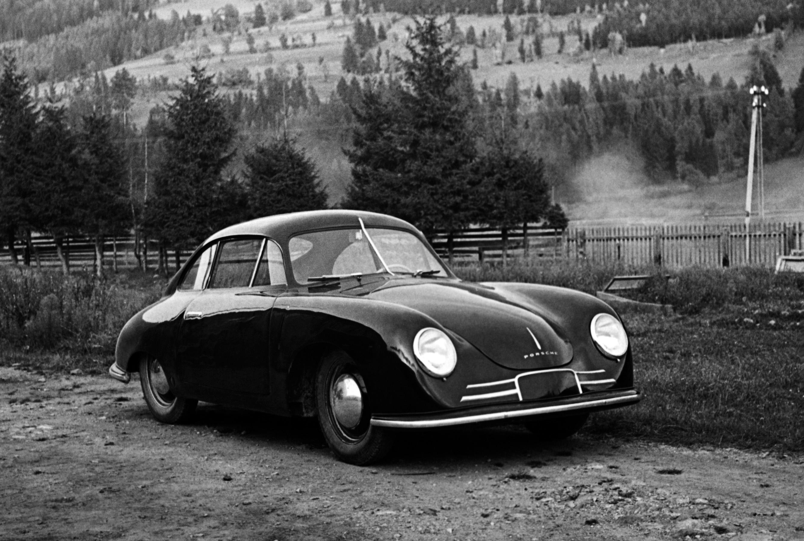 Porsche 356/2 Gmünd Coupe. 1948 год