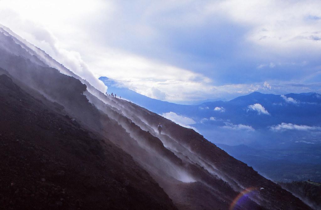 Volcan Pacaya (2,552m / 8,373ft)