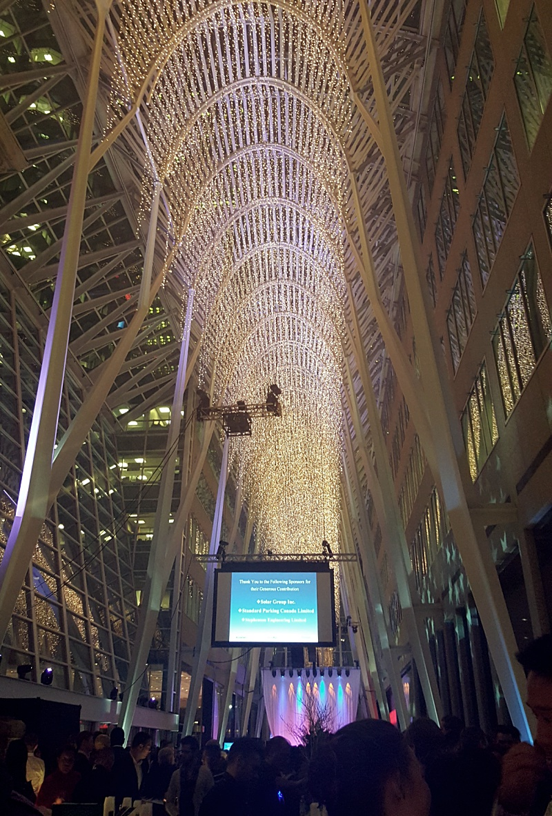 Brookfield Place Holiday Lights