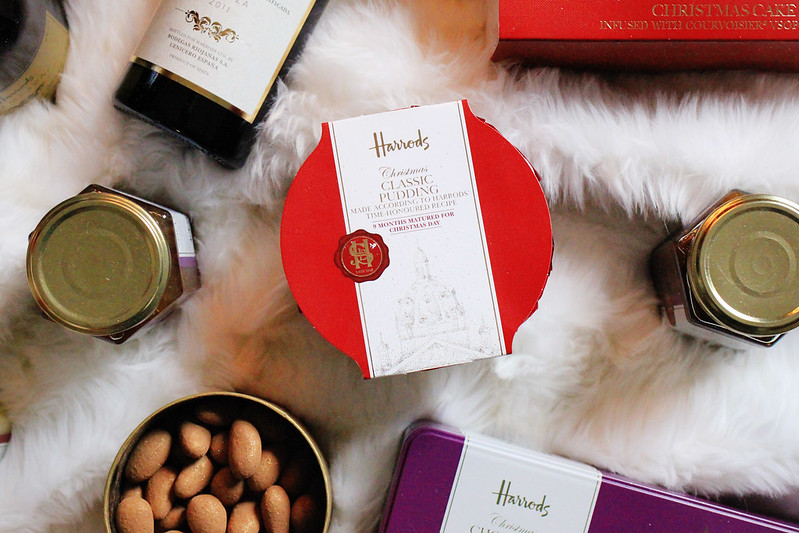 harrods christmas food hamper
