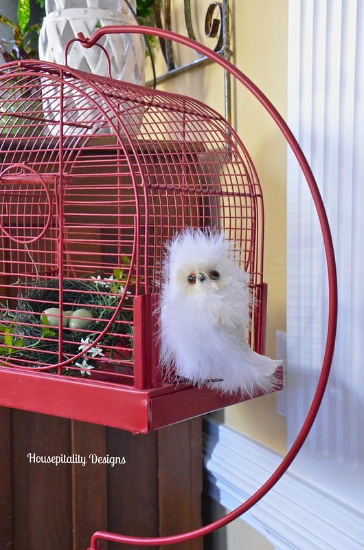Vintage Bird Cage - Housepitality Designs