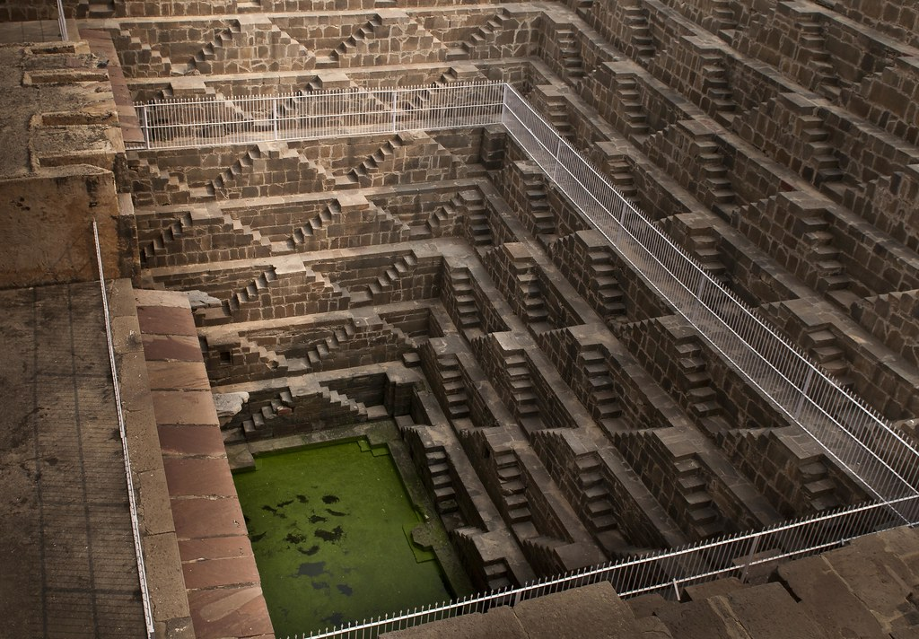 Step Well - Chand Baori (c. 800 AD) Another View