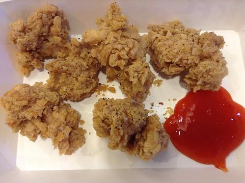 肯德基鸡米花3.5马币