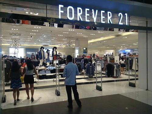 Forever 21 @ SM City Cebu