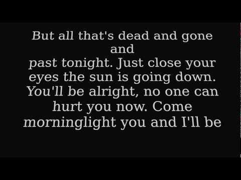 Taylor Swift - Safe and Sound / Lyrics on Screen