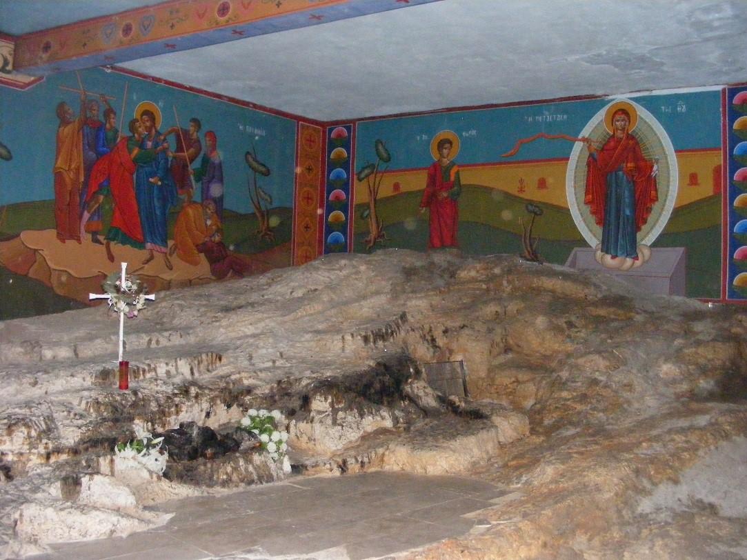 unde a fost martirizat Sfantul Stefanos