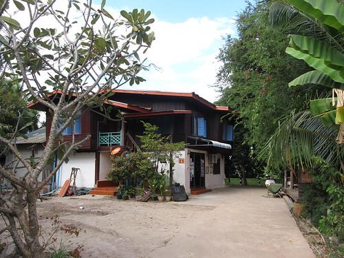 Paksé: notre guesthouse