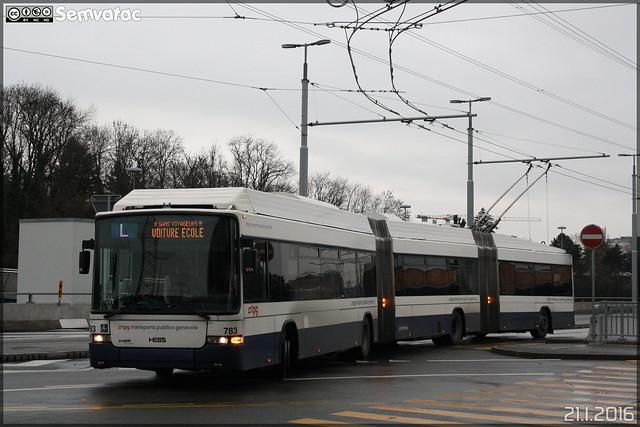 Hess Lightram 3 - TPG (Transports Publics Genevois) n°783