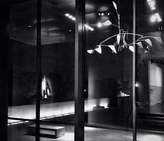 After dark at the museum. #artofvisuals #aov #archidetails #calder #museum #reflections #shadows #quiettime #igsanantonio #igsanantoniotexas #bnwphotography #quietmood