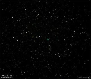 NGC 6765 – A Small Planetary Nebula in Lyra