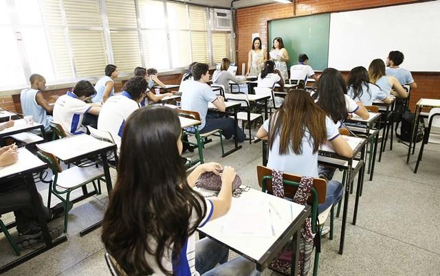 """""""É fantasioso imaginar que todas as escolas de ensino médio serão também escolas de formação profissional"""", diz educador - Créditos: Marcelo Horn/ GERJ"""