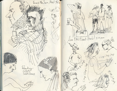 Sketchbook #90 - Swim Meet