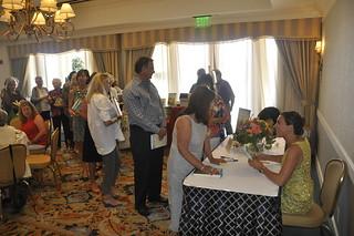 Vanessa-signing-books-group