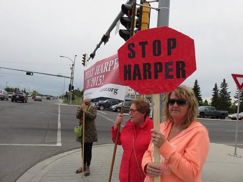 Stop Haper Picket: September 2, 2015