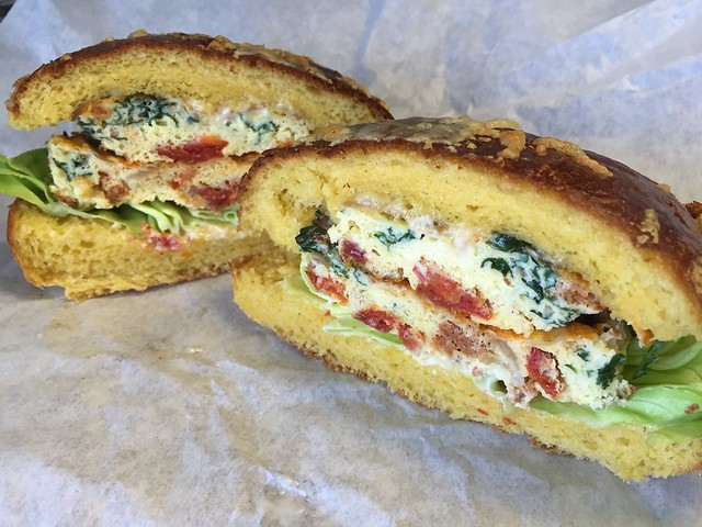 Chorizo frittata sandwich - The Sentinel
