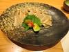 Tori-tataki (chicken-sliced)