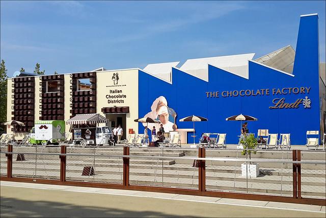 Le pavillon de la société Lindt (Expo Milan 2015)