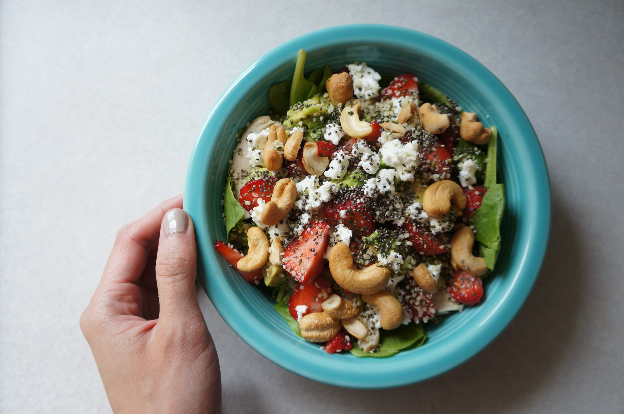 Strawberry Chicken Salad 1