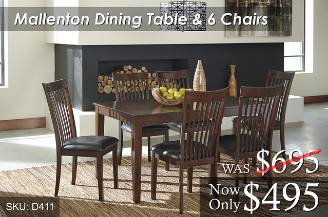 Mallenton Dining Set D411
