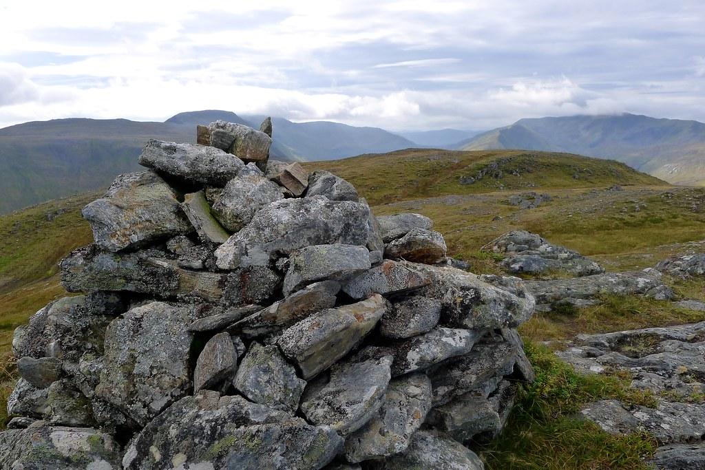 Summit of Carn a' Choire Ghairbh