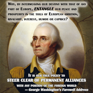 George Washington Against Entangling Alliances