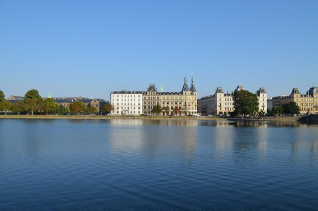 view over the Copenhagen lakes