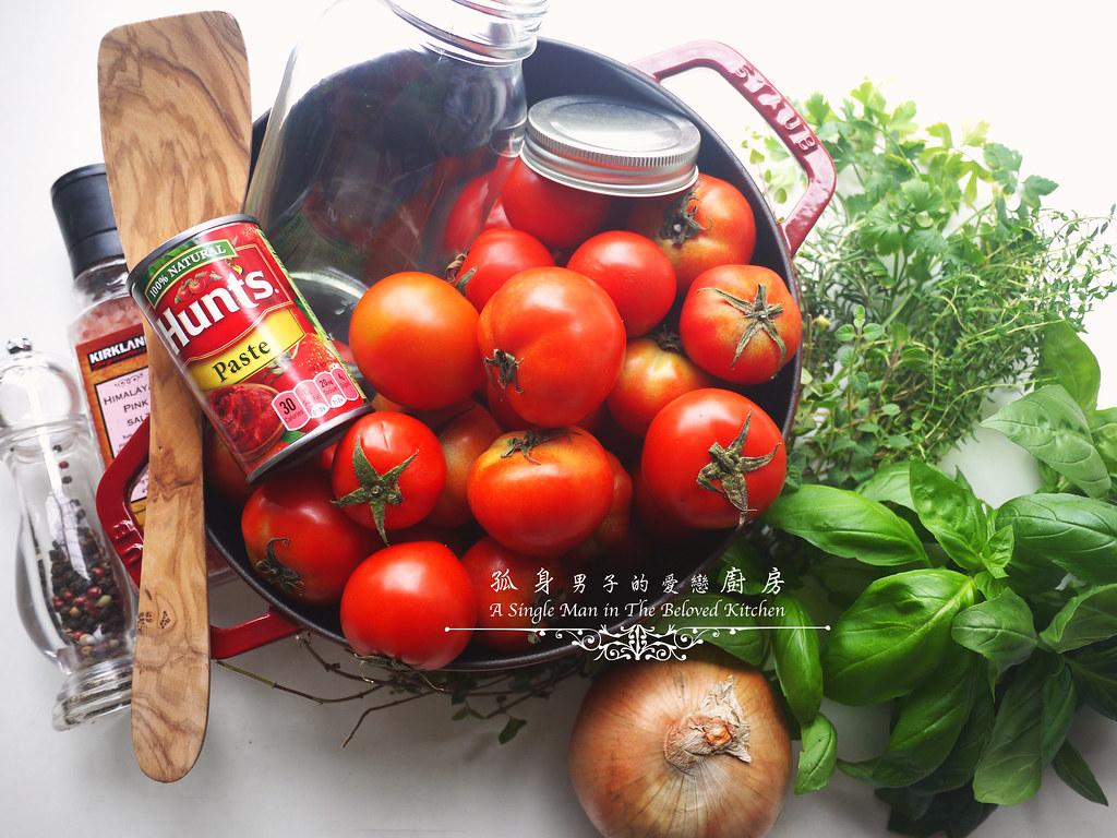 孤身廚房-義大利茄汁紅醬罐頭--自己的紅醬罐頭自己做。不求人2