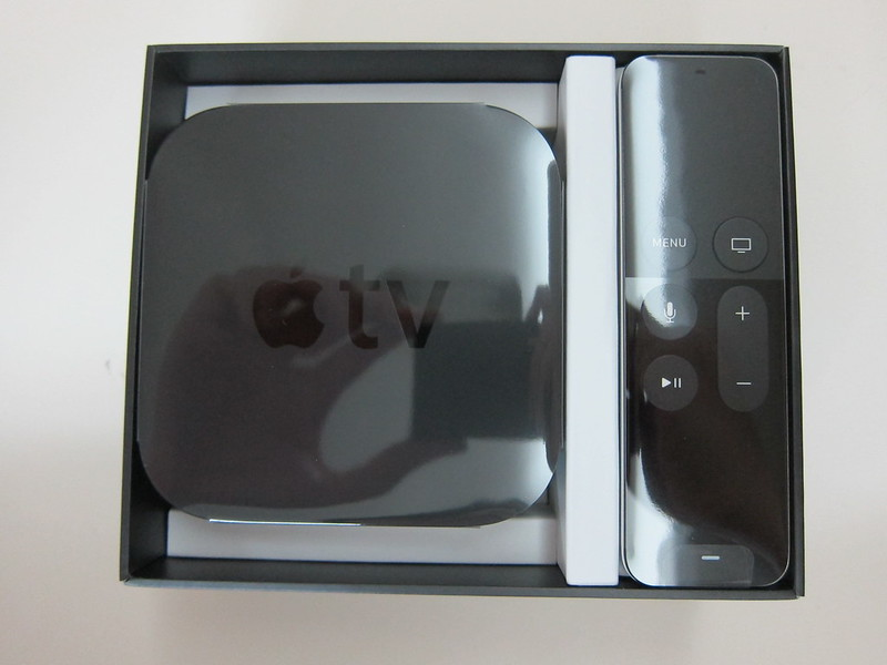 Apple TV (4th Generation) - Box Open