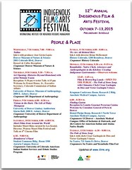 Indigenous Film and Arts Festival in Denver, Colorado, October 7-13 #ipw6