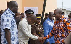 Historic Visit of President Mahama to Nsawam Medium Security Prison