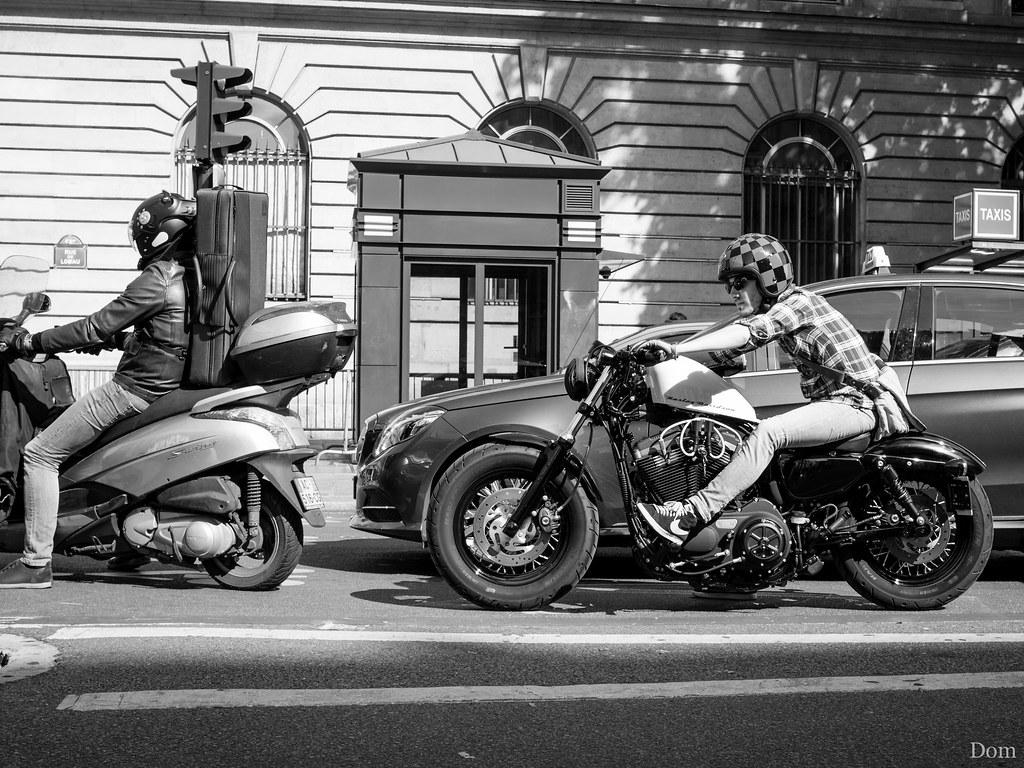 Une petite Harley