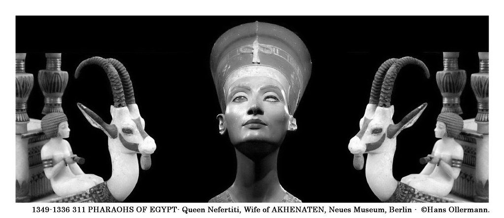 1349-1336 311 PHARAOHS OF EGYPT- Queen Nefertiti, Wife of … | Flickr