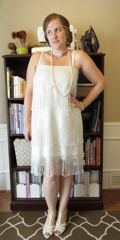 Flapper Costume - After