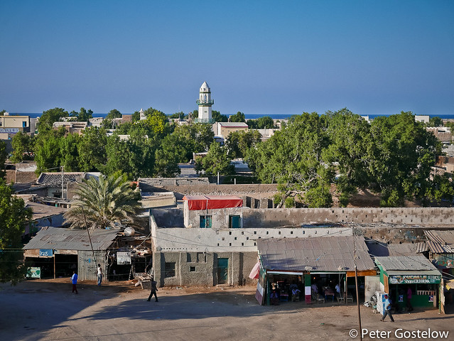 Berbera from my hotel roof-top