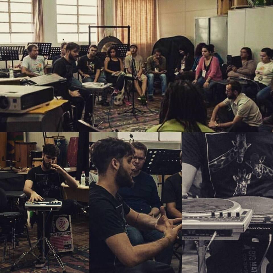 Oficina de percussão eletrônica