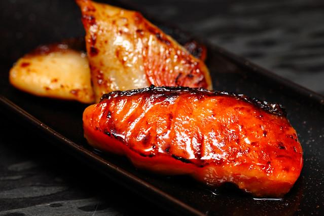 Black Cod Salmon Saikyo Yaki
