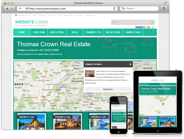 PremiumPress Real Estate v8.8 – Theme for WordPress