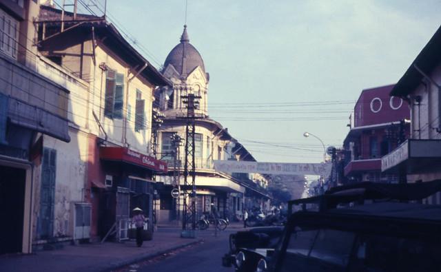 Saigon 1966-67 - Photo by Capt. Ted R. Snediker - Đường Ngô Quyền