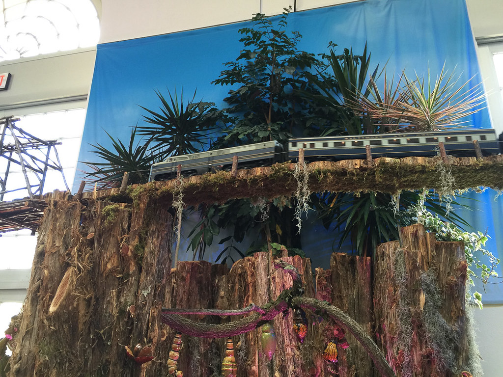 Christmas Train Display at U.S. Botanic Gardens